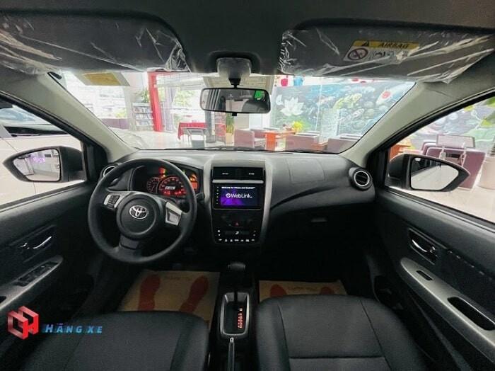 nội thất xe toyota wigo 2021