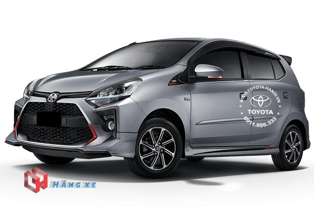 ngoại thất xe Toyota Wigo 2021 nhập khẩu mới
