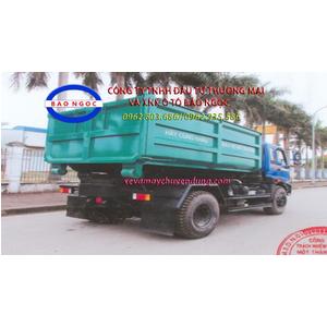 Xe chở rác thùng rời 9 khối (m3) hooklift Thaco FD1600