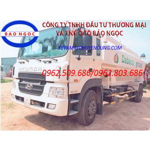Xe xitéc chở thức ăn chăn nuôi, chở cám 17 khối Hyundai HD 170