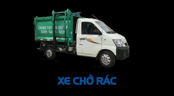 Thaco Towner 990 - Chở rác