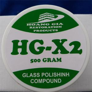 Xi đánh bóng kính HG-X2 GLASS POLISHING COMPOUND 500 gr