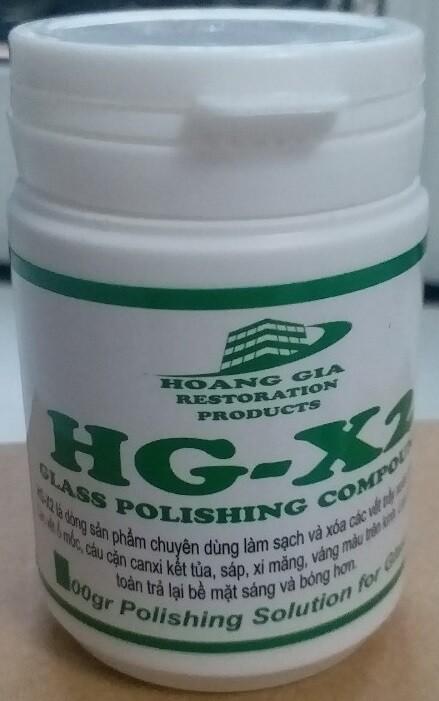 Glass Polishing Powder (dung dịch đánh bóng kính 250ml) 200gr