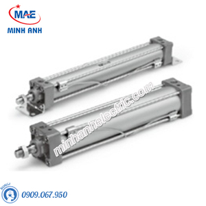 Xi lanh khí SMC - Sê-ri MB - Tiêu chuẩn loại khí nén đôi - Model MBB40-40Z-XB6
