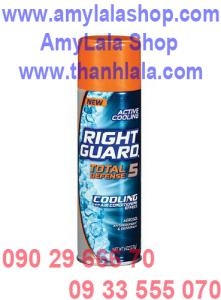 Xịt khử mùi Right Guard Total Defense 5in1 (Made in USA) - 0933555070 - 0902966670 :