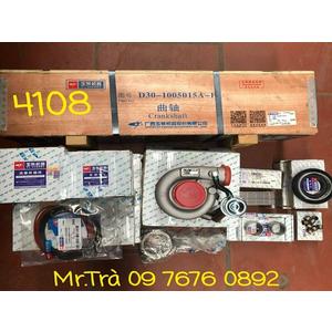 xilanh,pittong,trục cơ, tu bô máy yuichai 4108 thaco trường hải 8,3 tấn chính hãng