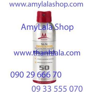 Xịt chống nắng đa Vitamin trắng da ngừa lão hóa Mission™ SPF50 - 0933555070 - 0902966670