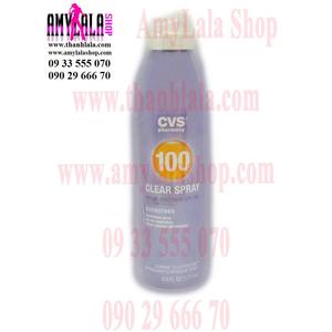 Xịt chống nắng làm sáng da CVS Clear Spray Sunscreen SPF100 177ml - 0933555070 - 0902966670