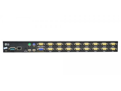 16 port USB VGA KVM over IP Switch - XM0116i