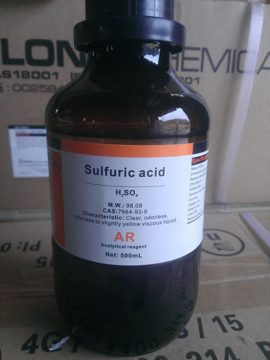 Axit Sulfuric (H2SO4)