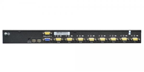 Rack 8 port USB Analog KVM Switch - XU0108