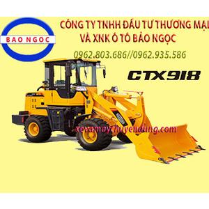 XE XÚC LẬT MINI CTX918 DUNG TÍCH GẦU 0,7 M3