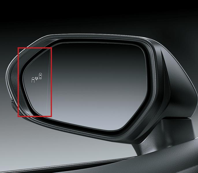 Hệ thống cảnh báo điểm mù BSM trên Toyota Camry
