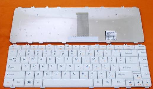bàn phím laptop lenovo Y450 trắng