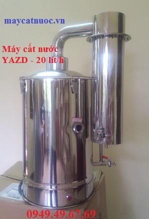 Máy cất nước 1 lần 20 lít/giờ