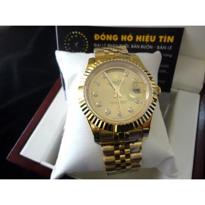 Đồng hồ nam tự động Rolex DayDate 2 41mm yellow gold