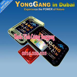 Thuốc YongGang Vĩnh Cương bổ thận,Thuốc cường dương YongGang tablet for Men Hộp 8 viên