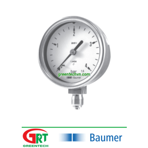 Baumer MEX3-F22B22/0751 | Đồng hồ áp suất Baumer MEX3-F22B22/0751 | Pressure Gauge Baumer MEX3-F22B22/0751