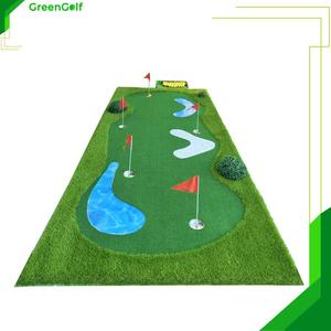 Thảm Putting Cao Cấp kích thước 1.5x3m thiết kế giống sân golf thu nhỏ, chất liệu cỏ cao cấp