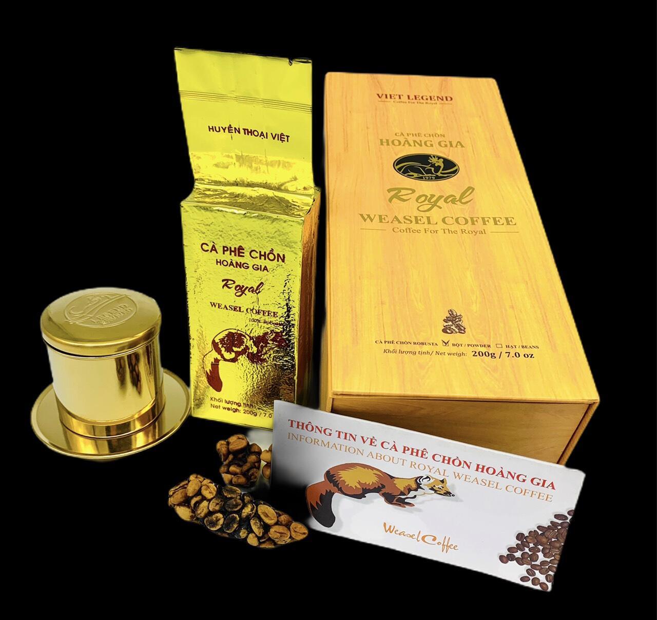 Cà phê Chồn Hoàng Gia