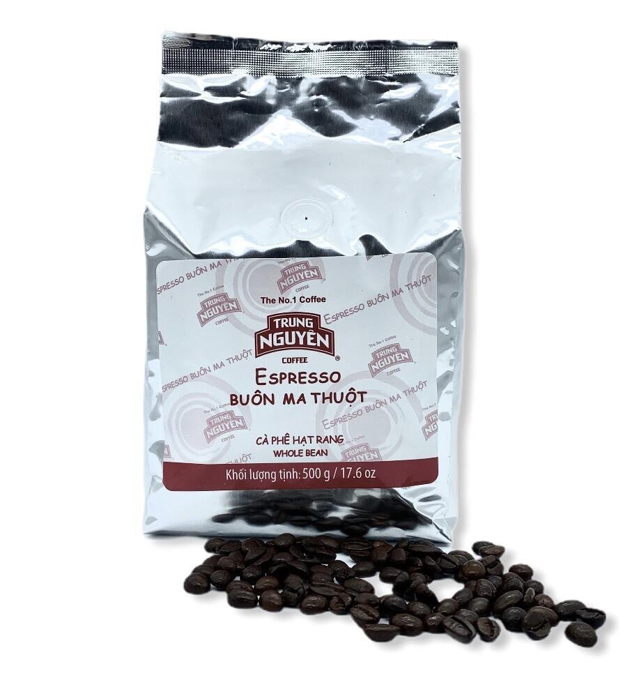 Cà phê hạt Trung Nguyên( 500gr)