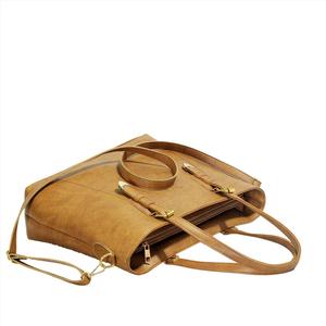 Túi xách nữ thời trang CNT TX39 cao cấp (Kèm ví) Nâu