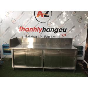 BÀN TỦ INOX 304 NHÀ HÀNG SP 04