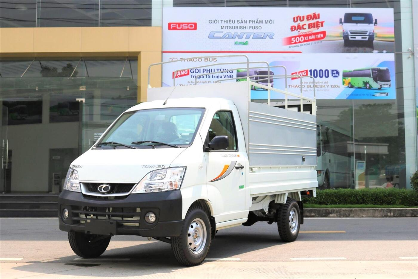 Xe Tải Towner 990 Thùng Mui Bạt, Tải 900 Kg