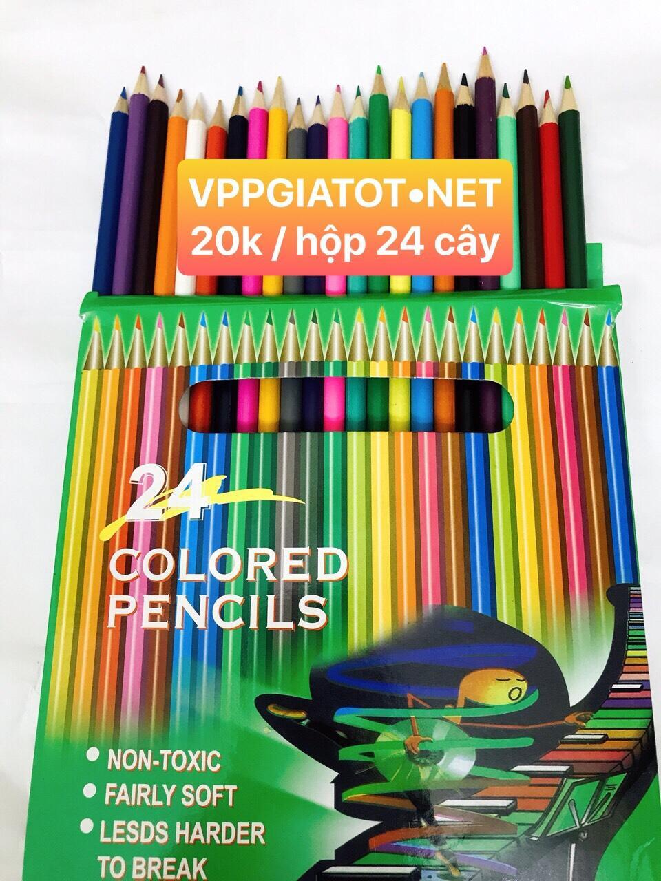 Bút chì màu 24