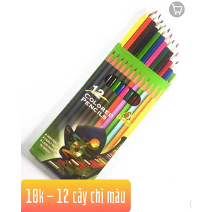 Bút chì màu 12