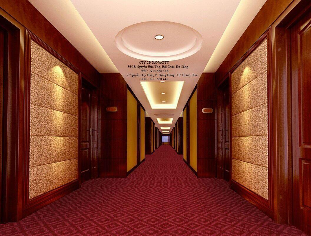 Thảm trải sàn khách sạn tại đà nẵng