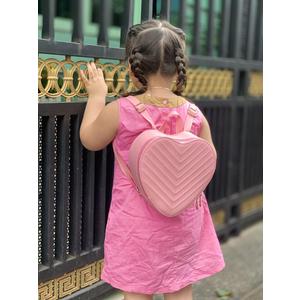 Balo Thủy Tiên BL55 CNT trái tim HỒNG