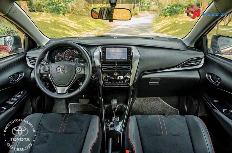 Nội thất xe Toyota Vios GRS 2021