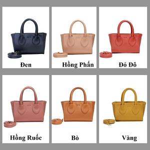 Túi đeo chéo CNT TĐX 63 phong cách hàn quốc nhiều màu-HỒNG RUỐC