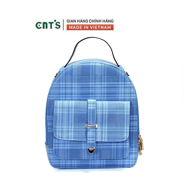 Balo thời trang CNT BL65 phong cách hàn quốc nhiều màu-XANH NGỌC