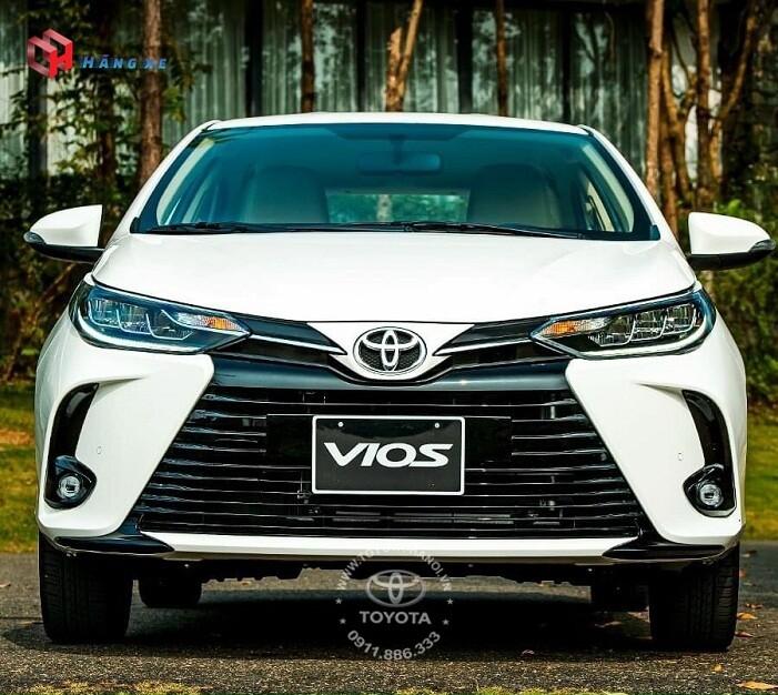 Ngoại thất đầu xe Toyota Vios G 2021