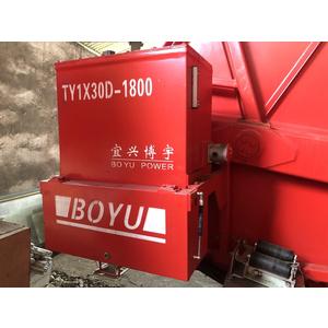 Máy hãm dây thủy lực 2 trống BOYU TY1X30D-1800 (3 tấn)