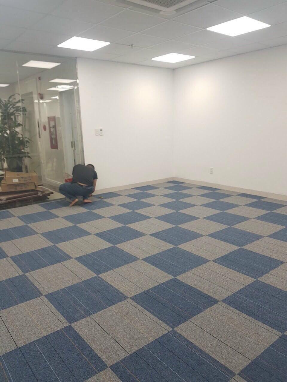 Một dự án công trình thảm gạchtấm KT50x50 của DANACITY ĐÀ NẴNG