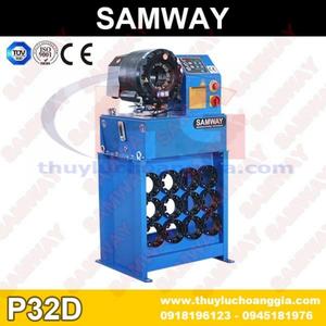 Máy Ép Ống Tuy Ô Thủy Lực SamWay P32D