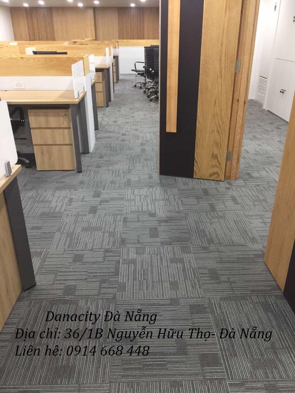 Hình ảnh hoàn thiệnthi công Thảm trải sàn văn phòng củaDANACITY ĐÀ NẴNG