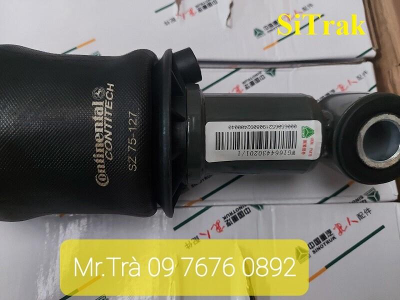 giảm sóc bóng hơi xe đầu kéo sitrak WG1664430201