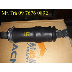 giảm sóc bóng hơi xe đầu tải thùng chenglong H7,xe đầu kéo chenglong H7