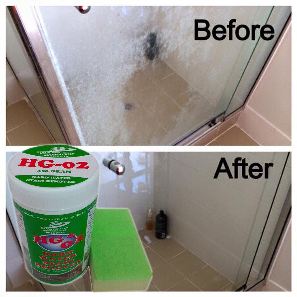 Sản phẩm đa năng chuyên phòng tắm, bụi sơn nước cứng trên kính, gương xe, vách tắm kính HG 02 400gr