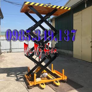 Bàn nâng điện HW2003 (2 tấn cao 1.3m)