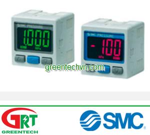 Digital pressure switch / with display max. 1 MPa   ZSE3   Công tắc áp suất SMC   SMC Vietnam   SMC